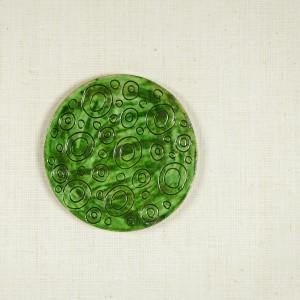 Suport ceramic pentru pahare făcut manual