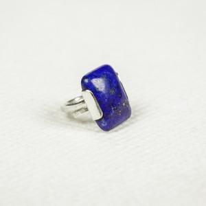 Inel din argint cu piatră de lapis lazuli