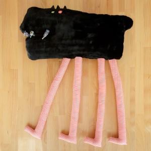 Jucărie textilă, Lup Extrem de Înalt