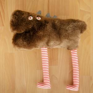 Jucărie textilă, Pui de Lup