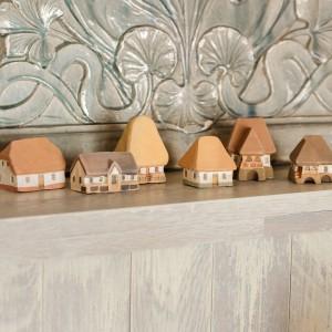 Set căsuțe tărănești în miniatură