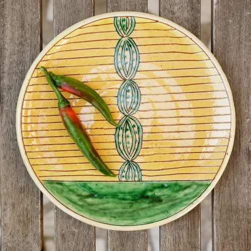 "Ceramic Plate ""Fruit"""