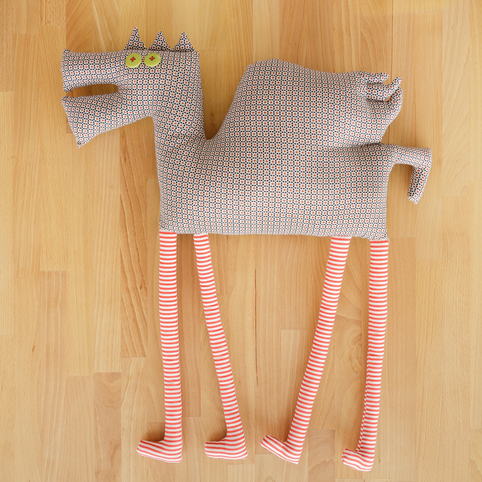 So Cal Clothing >> Teenage Winged Horse, textile toy - Textile toys - Gifts