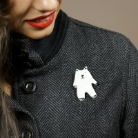 """Mini-bear"" Brooch"