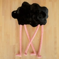 Tall Sheep, textile toy