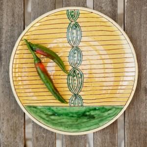 """Ceramic Plate """"Fruit"""""""