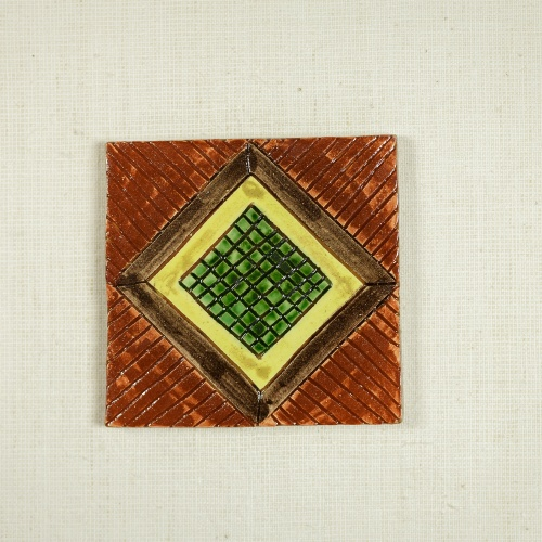 "Handmade coasters, ""Wealth"" Collection"