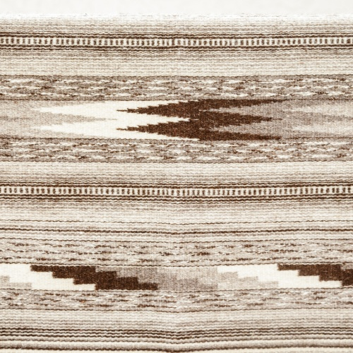"Wool rug ""Dovetail"", gray, I"
