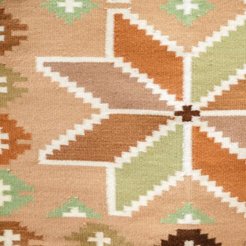 "Wool rug ""Star"""