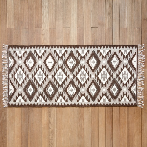 "Wool Rug ""Queen's Crown I"""