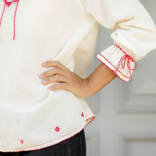 Hand Embroidered Blouse