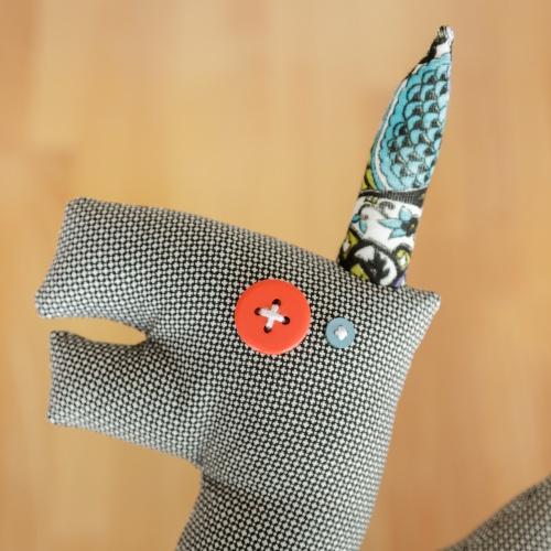 Teenage Inorog, textile toy