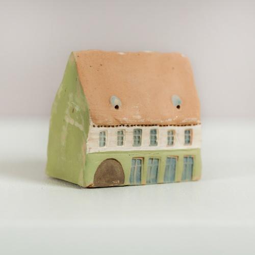 Handmade miniature pottery