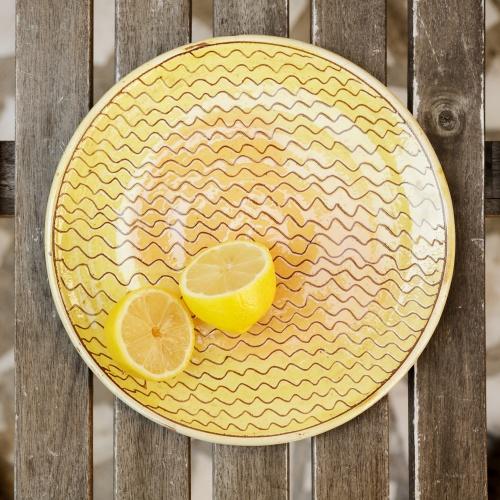 "Ceramic Plate ""Seed"""
