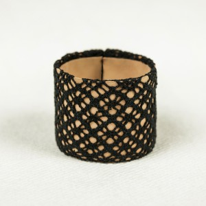 Handmade leather bracelet