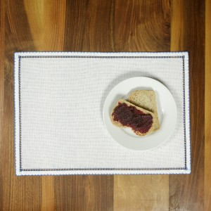 Handmade placemat, blue
