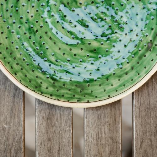 "Ceramic Plate ""Infinity"""