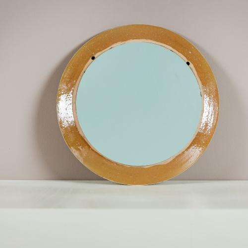 """Soul"" Mirror Handmade pottery"