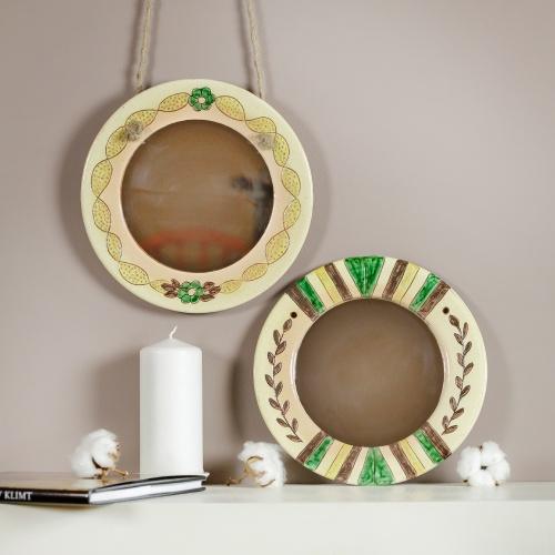 """""""Body"""" Mirror Handmade pottery"""
